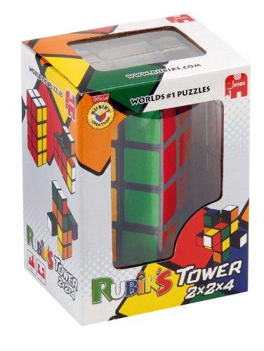 Jumbo Spiele 12154 - Rubik's Tower, juego de Rubik's en versión torre
