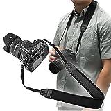 LXH Correa de cinturón de Neopreno de Confort Extra Ancha para Canon EOS 750D 700D 550D 6D Mark II 5D Mark III 5D Mark IV 1D Mark II para Fujifilm Nikon Olympus