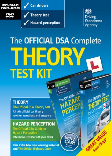 The Official Driving Standards Agency Complete Theory Test Kit - 2013 [import anglais]