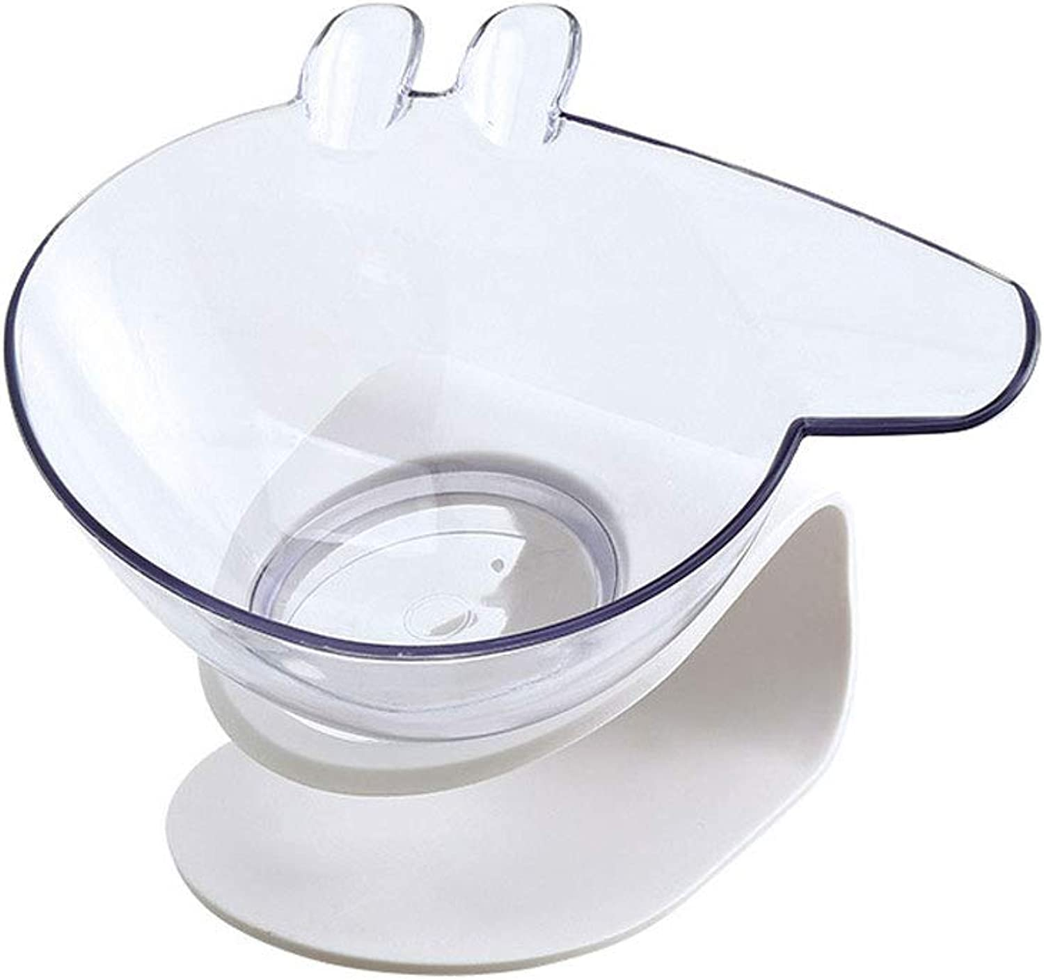 Cat Single Bowls, Pet Feeder for Small Medium Dog Cat Double Raise Bowls Plastic Food Water Container