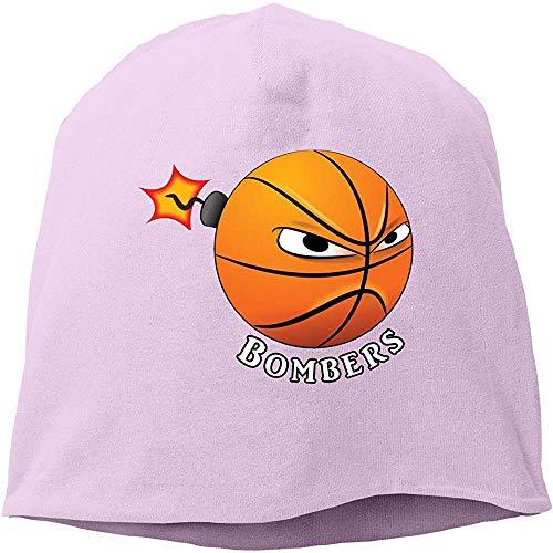 Calavera Y Gorro De Punto,Beanie Gorro De Invierno,Slouchy Beanie Hat,Gorro Hombre Invierno,Bombers Basketball Adulto/Niños Slouchy Beanie,Baggy Hip-Hop Hat