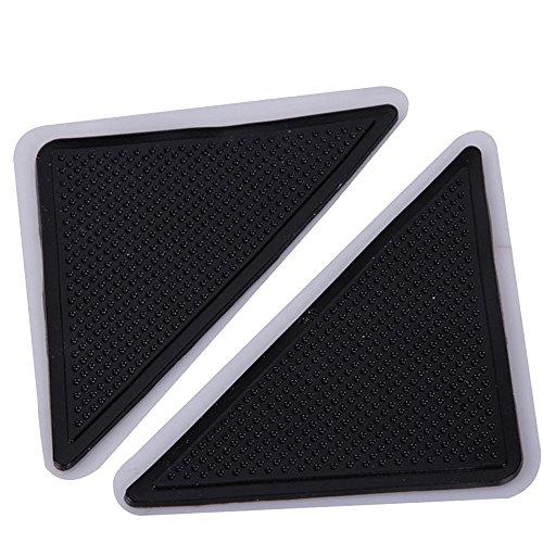 JackRuler Teppich Anti Rutsch Unterlage 4 Stück Anti Rutsch Teppichunterlage aus Antirutschmatte für Teppich