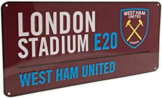 West Ham United FC Official Street Sign
