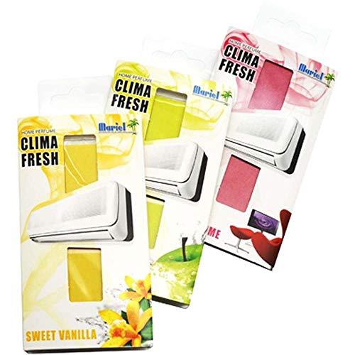 Mariel PROFUMATORE CLIMA FRESH Sweet Vanilla Profumatori Climatizzatore (Pz.1)