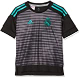 adidas CF1590 Camiseta, Niños, Negro (Granit), 128-7/8 años
