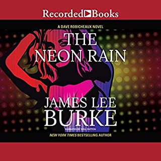 The Neon Rain audiobook cover art