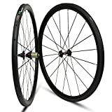 Yuanan Aero Carbon Wheel Tubular Tubeless for Road Bike Wheelset with Novatec N271 Hub