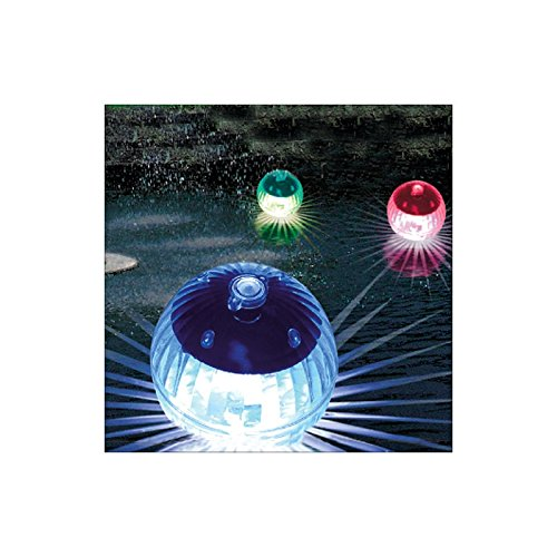 LED Schwimmleuchte Kugelleuchte Solar 4er Set 504301