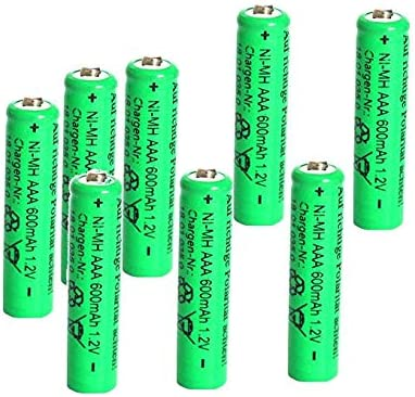 Solar Akku Leistungsstarke Wiederaufladbare Batterien Nimh Aaa Akku Aaa 8 Stück Beleuchtung