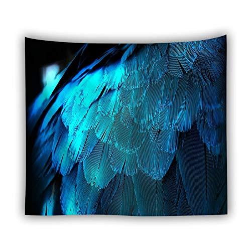 KHKJ Textura Abstracta Tapiz Colgante de Pared Mandala Alfombra psicodélico Hippie Boho decoración Dormitorio Revestimiento de Pared Tapiz A15 95x73cm