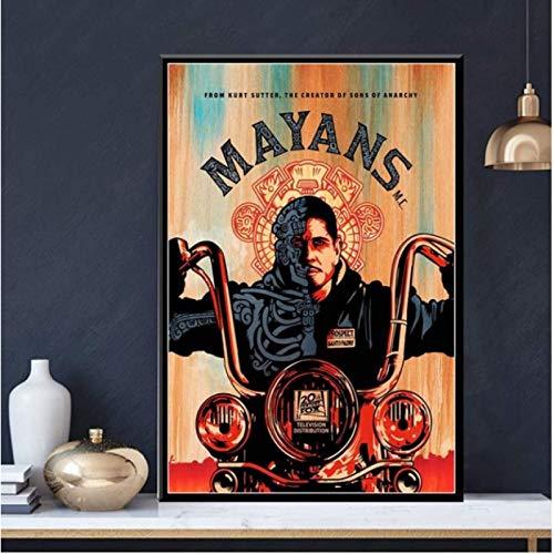 H/M Serie De TV Muestra Carteles E Impresiones Lienzo Pintura Pared Arte Cartel Dormitorio Sala De Estar Decoración del Hogar 40X50Cm -Gl2943