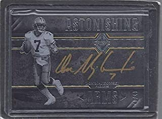 Don Majkowski 2017 Panini Majestic Astonishing Arms Gold Ink On Card Auto #d /49 - Panini Certified - Football Slabbed Autographed Rookie Cards