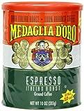 Medaglia D'Oro Italian Roast Espresso Coffee, 10 Ounce (Pack of 12) by Medaglia D'Oro