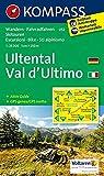 KOMPASS Wanderkarte Ultental, Val d'Ultimo: Wanderkarte mit Aktiv Guide, Radrouten und Skitouren. GPS-genau. 1:25000 (KOMPASS-Wanderkarten, Band 52) - KOMPASS-Karten GmbH
