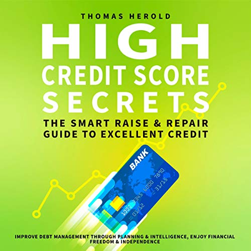 High Credit Score Secrets audiobook cover art