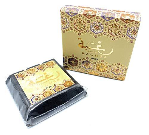Souq24 Raghba Bakhoor - Polvo de incienso árabe oriental para el hogar,...