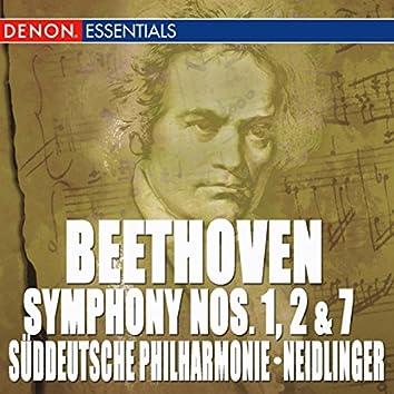 Beethoven: Symphony Nos. 1, 2 & 7