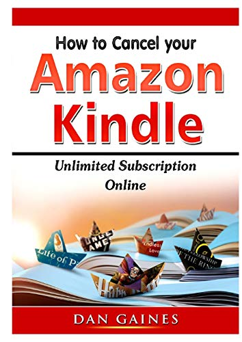 How to cancel Amazon Kindle Unlimited Subscription Online