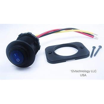 Rigid Industries 40191 Lighted Rocker Switch