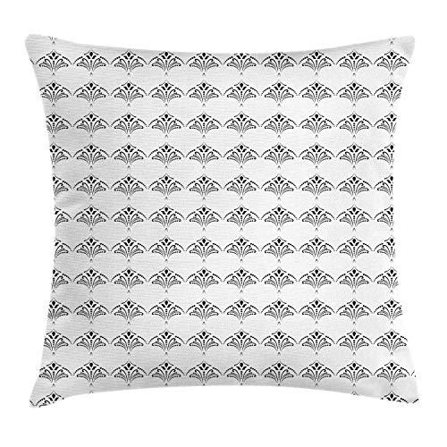 Fleeting Art Studio Funda de almohada 3D con diseño clásico inspirado en Damasco, diseño clásico, composición tradicional, cuadrada, cálida, para sofá, decoración de vacaciones, 50 x 50 cm, 3 unidades