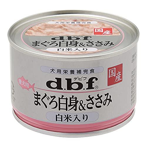デビフ d.b.f デビフ まぐろ白身&ささみ 白米入り 150g