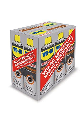 WD-42 49976 Specialist Bremsenreiniger im praktischen Sixpack, 6 x 500ml