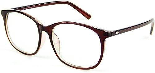 Cyxus Blue Light Blocking Glasses Anti Eyestrain Computer Glasses UV Filter Clear Lens Oversize Frame Eyeglasses (812...