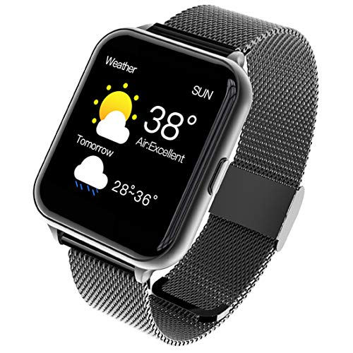 Smartwatch, Reloj Inteligente IP68 con Pantalla Táctil de 1.54'', Pulsera Actividad Inteligente Hombre Mujer Reloj Deportivo con Monitor de Sueño Contador de Caloría Pulsómetros para Android iOS
