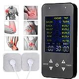 Électrostimulateur TENS Pulse Stimulateur Musculaire Numérique Dispositif de Massage EMS Physiothérapie Machine avec 4 Électrodes pour Soulagement De La Douleur Du Corps