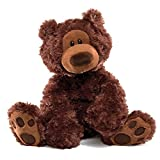 GUND Philbin Teddy Bear Stuffed Animal Plush, Chocolate Brown, 12'