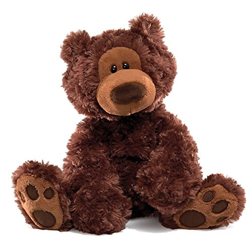 GUND Philbin Teddy Bear Stuffed Animal Plush Chocolate Brown 12quot