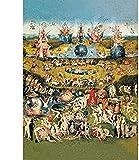 DFGJ 2000 Piezas de Rompecabezas para Adultos - El jardín de Las delicias de la Tierra 2000 Piezas de Rompecabezas de desafío de Color para niños Juego de Juguetes educativos (105 * 75 cm)