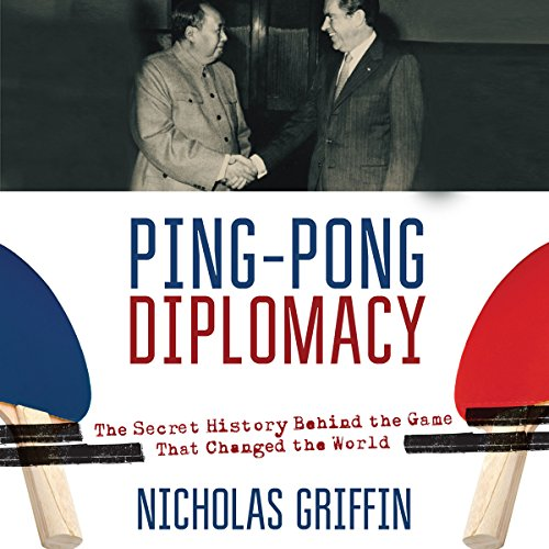 Ping-Pong Diplomacy audiobook cover art