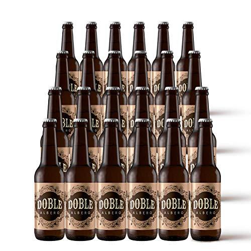 Pack x24   Cerveza Artesana Doble Malta 6,9% Alc. 24 unidades. Cervezas Albero
