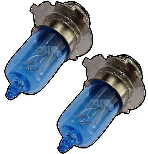 AERZETIX: 2x Bombillas P15D-25-3 12V 35/35W con efecto Xenon para motocicleta scooter C18937