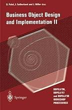 Business Object Design and Implementation II: OOPSLA '96, OOPSLA '97 and OOPSLA '98 Workshop Proceedings (v. 2)
