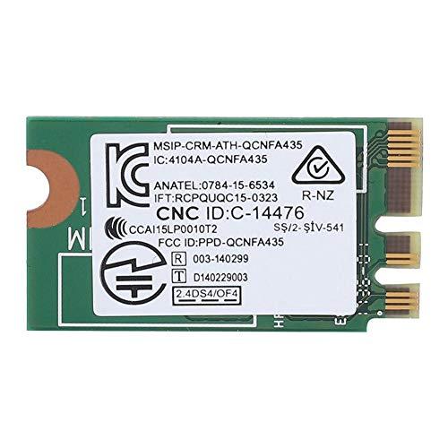 Mugast-netwerkkaart, draadloze hogesnelheidsnetwerkkaart Dual Band 2,4 G / 5 G / M2 Geschikt voor ASUS/Acer/BenQ/Toshiba/Dell/Samsung/Haier/TongfangOndersteuning Win 7 / Win 8 /