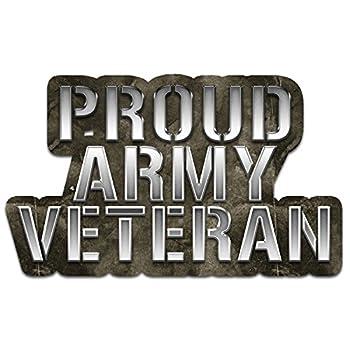 Bargain Max Decals US Army Star Veteran Window Laptop Car Sticker 8