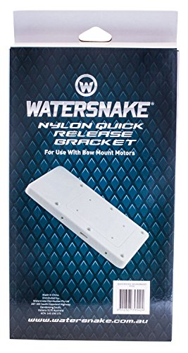 Watersnake Trolling Motor Nylon Quick Release Bracket