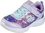 Skechers Kids Girl's Sport Lighted - Glimmer Kicks 20267L (Little Kid/Big Kid) Lavendar/Aqua 13 Little Kid