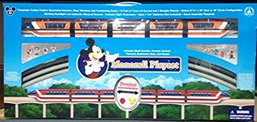 artículos novedosos Deluxe Upgraded Remote Controlled Monorail Play Play Play Set - Disneyland Theme Park Exclusive - Limited Availability by Disney  el mas reciente