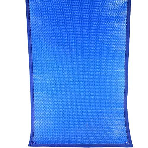 HH- Bâches Couverture De Piscine Rectangulaire Anti-Pluie De Couverture Anti-Pluie - Couverture Solaire Résistante De Piscine avec des Œillets (Bleu) (Size : 2×2m)