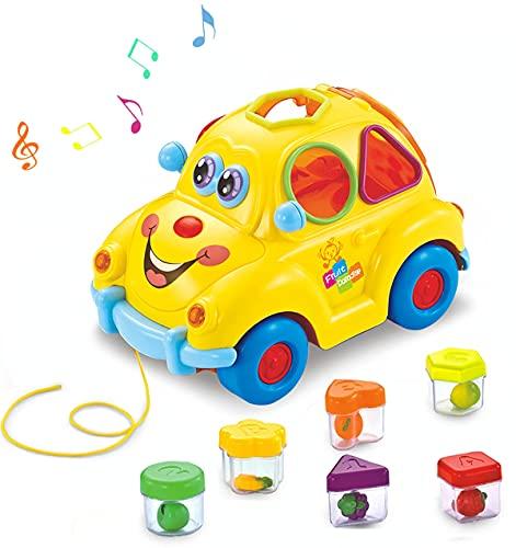 HOLA Musical Car Baby Girl Boy Toys 12-18 Months, Shape Sorter Toys...