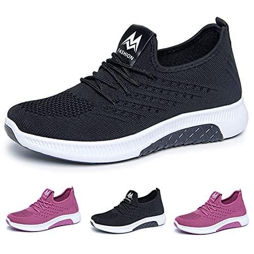 GYJJ Chaussures de Sport Chaussons Fille 34 Ete Bout Ouvert Sangle Cheville Rapidementtrous Enfiler Antidéparant Respirant Plage Urbain Piscine Douche D'intérieur Travail Ruched(Mauve 39)