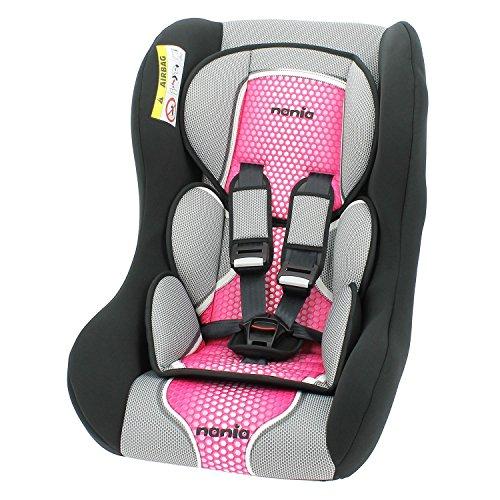 Kinderautositz - gruppen 0/1/2 de 0 à 25 kg - TRIO - 4 farben - Rose