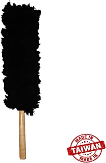 Car Mart Duster Car Cleaner, Home, Wooden & Window Duster Cleaner - Black/Cleaner Tool Made in Taiwan