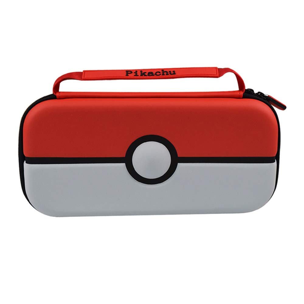 Carrying Case for Nintendo Switch and Accessories, Portable Nintendo Pokémon Travel Case,Fits 12 Game Card Slots Portable Travel Case: Video Games