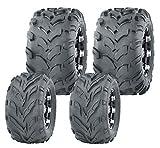 Set 4 WANDA ATV Go Kart tires 145/70-6 145X70X6 & 18X9.5-8 18X9.5X8...
