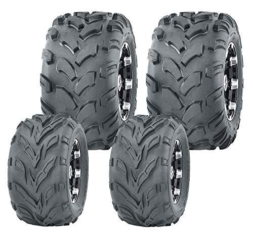 Set 4 WANDA ATV Go Kart tires 145/70-6 145X70X6 & 18X9.5-8 18X9.5X8 4PR