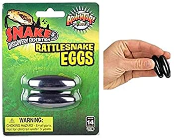 Zugar Land Magnetic Rattle Snake Eggs  1.75  - 1 Pack - 2 Pieces